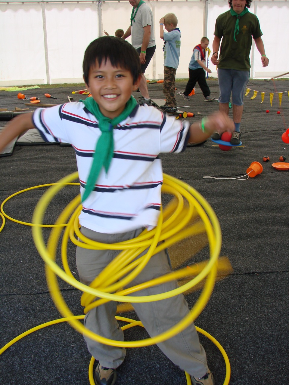 spinning hoops, circus workshop, circus party